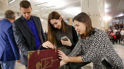 """Проект """"Книги Беларуси. Год 2019"""" стартовал в Национальной библиотеке"""
