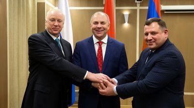 Главы следственных комитетов трех стран встретились в Бресте