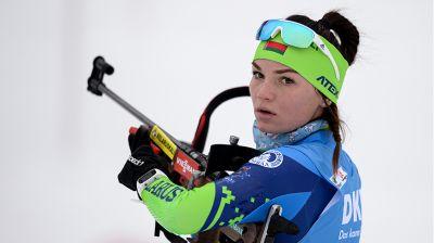 Итальянская биатлонистка Доротея Вирер выиграла спринт на этапе КМ в Хохфильцене
