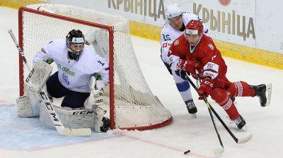 Хоккеисты сборной Беларуси победили словенцев в матче 4-го тура молодежного ЧМ в Минске