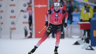 Норвежский биатлонист Йоханнес Бё стал первым в спринте на этапе КМ в Хохфильцене
