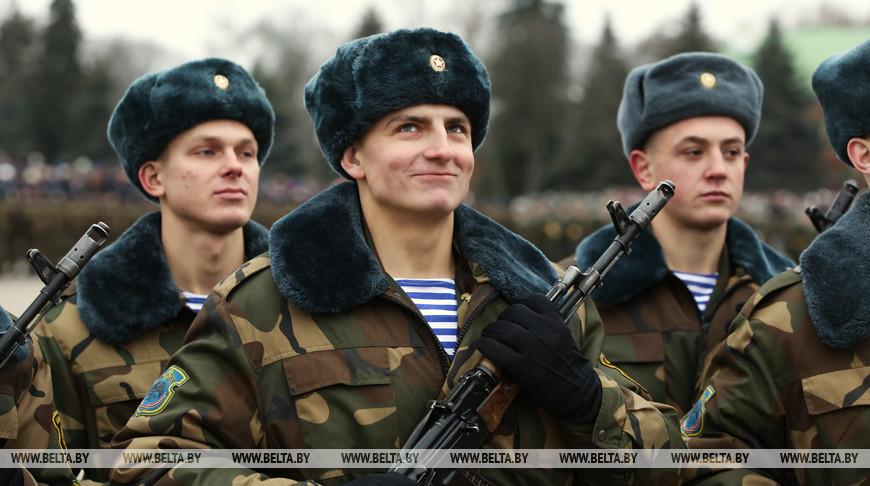 Церемония принятия присяги прошла в Брестской крепости