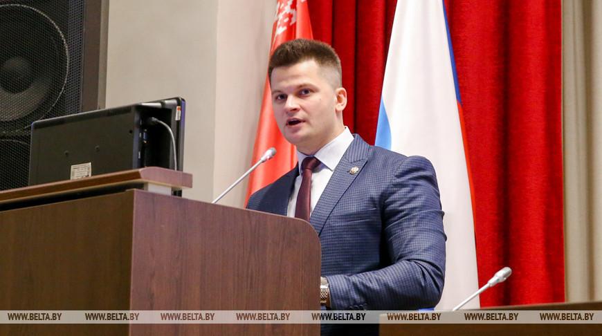 Члены Молодежной палаты при Парламентском собрании Союза Беларуси и России собрались в Минске