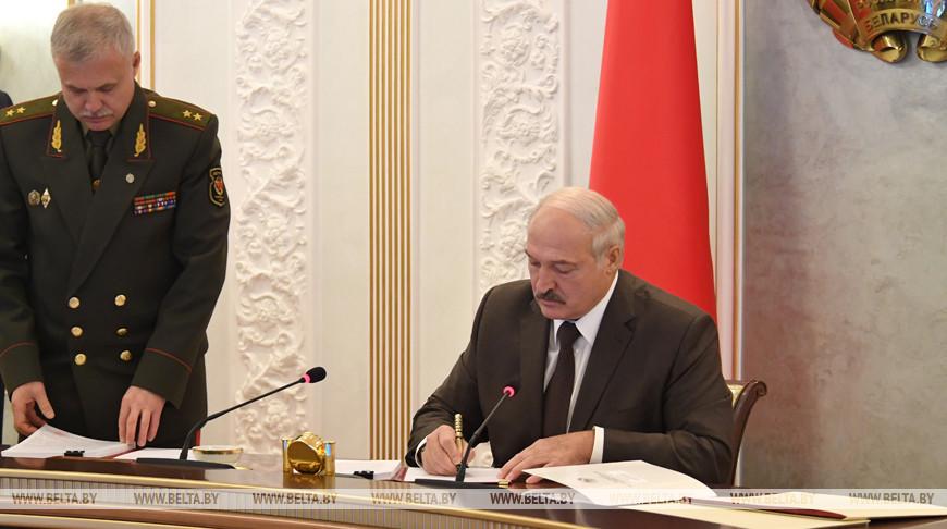 Лукашенко утвердил новый план обороны Беларуси
