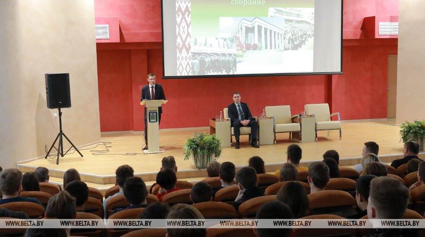 Кунцевич встретился со студентами Белорусско-Российского университета