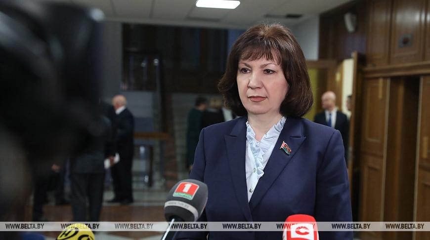 Кочанова призывает депутатов занимать более активную позицию в решении вопросов людей