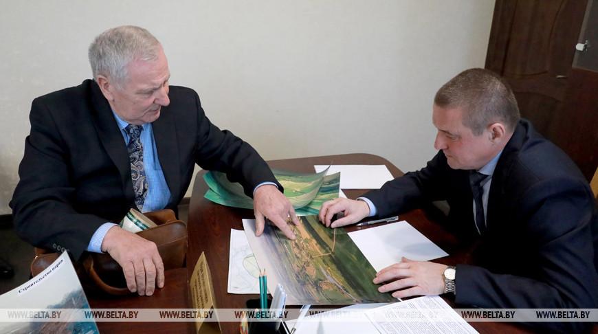 Леонид Заяц провел прием граждан в Кричеве