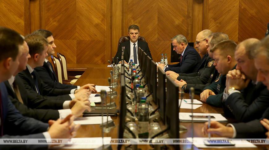 Заседание комиссии по обеспечению безопасности дорожного движения при Совмине прошло в Минске