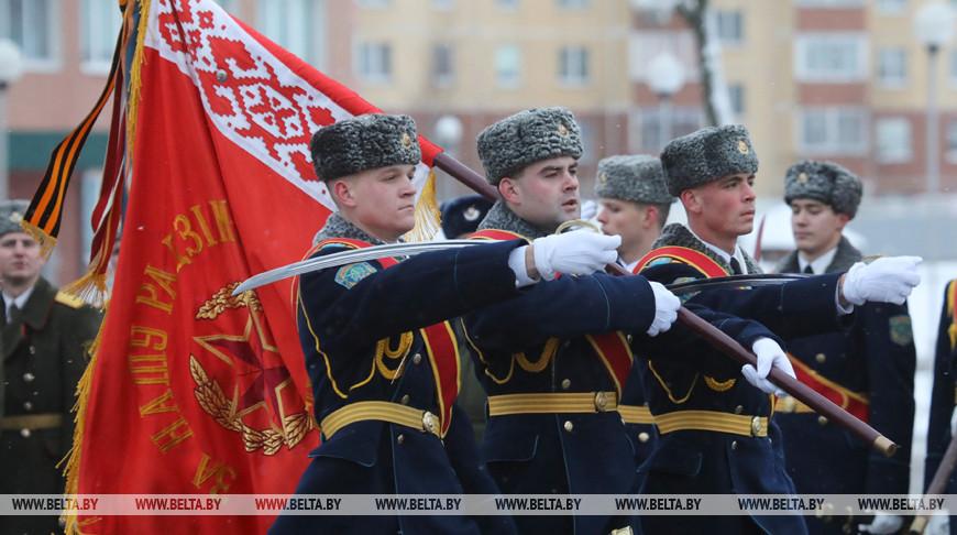 Витебская 103-я десантная бригада отпраздновала 75-летие