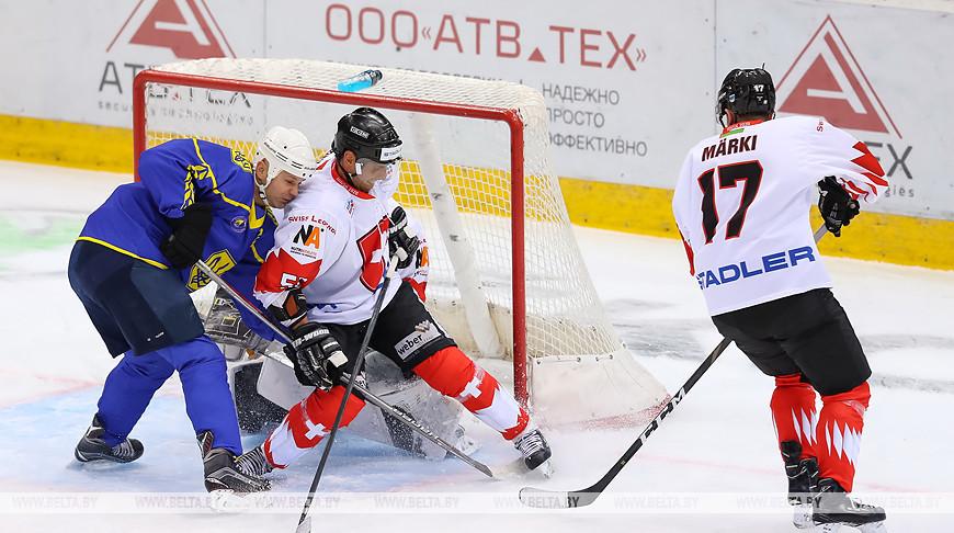 Матчем Украина - Швейцария стартовал в Минске XVI Рождественский турнир по хоккею