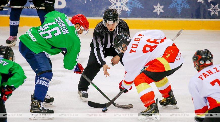 Сборная Балкан обыграла китайских хоккеистов на Рождественском турнире в Минске