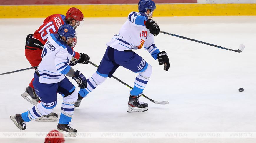 Российские хоккеисты стали первыми финалистами Рождественского турнира в Минске