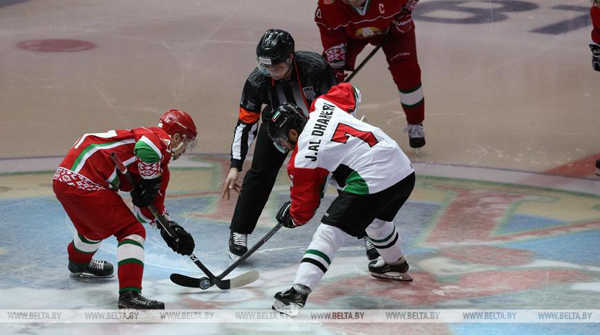 Хоккейная команда Президента Беларуси вышла в финал Рождественского турнира в Минске