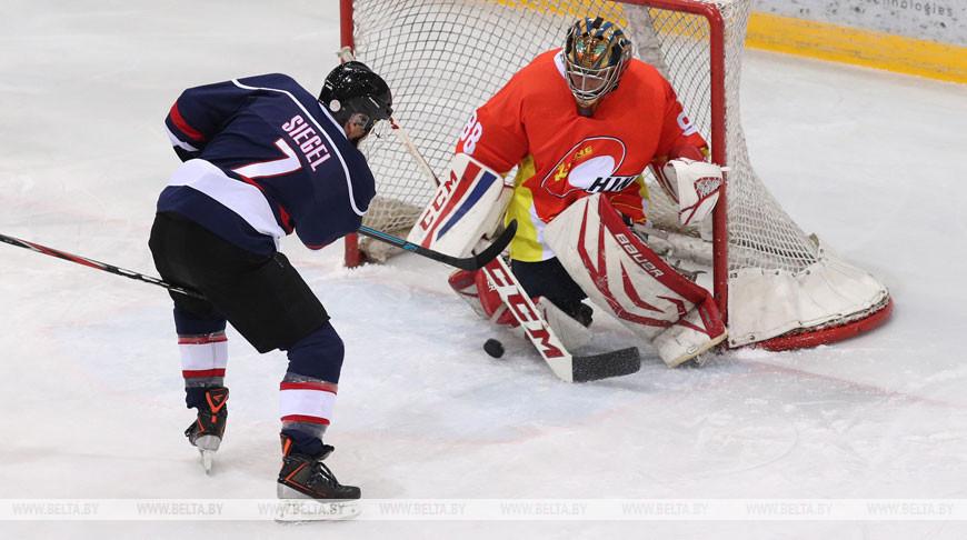 Хоккеисты из США обыграли команду Китая на Рождественском турнире