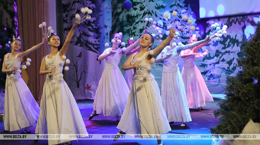 Около 250 детей из Гомельской области стали участниками праздника в канун Рождества