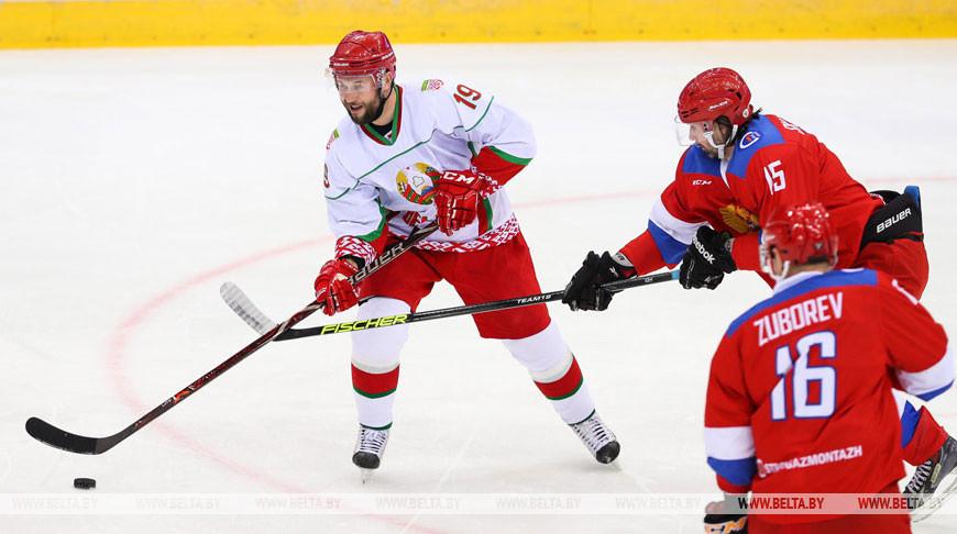 Хоккейная команда Президента Беларуси победила в XVI Рождественском турнире