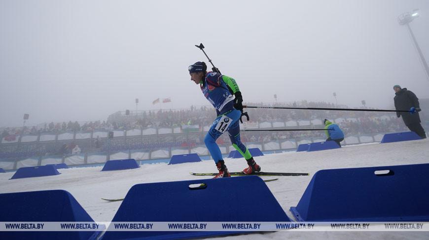 Ирина Кривко заняла 13-е место в спринте на этапе КМ по биатлону в Оберхофе