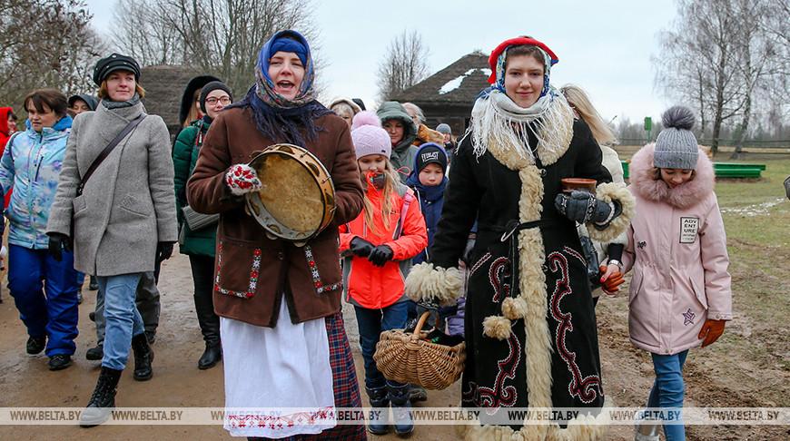 В Строчицах отпраздновали Щедрец