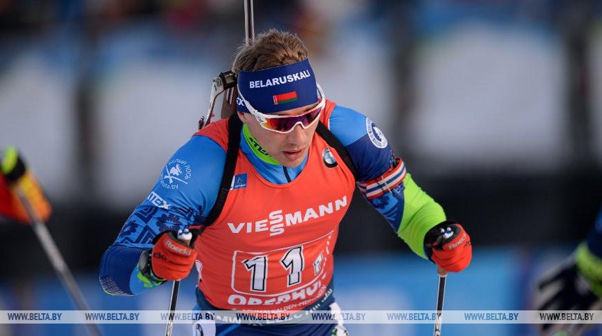 Белорусские биатлонисты вошли в пятерку сильнейших в эстафете на этапе КМ в Оберхофе
