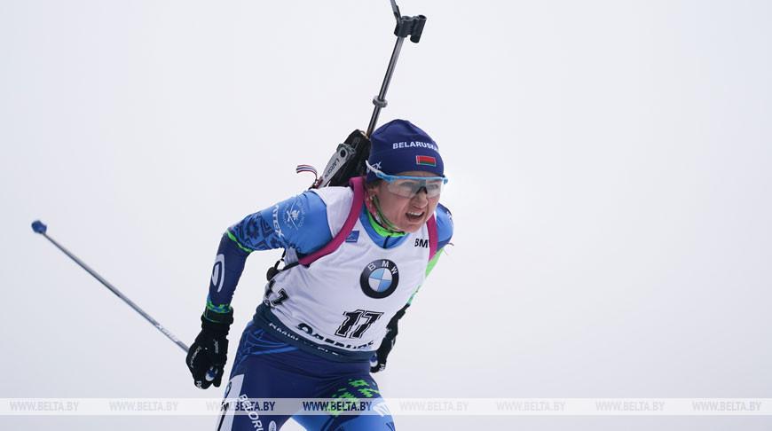 Ирина Кривко финишировала 7-й в масс-старте на этапе КМ в Оберхофе