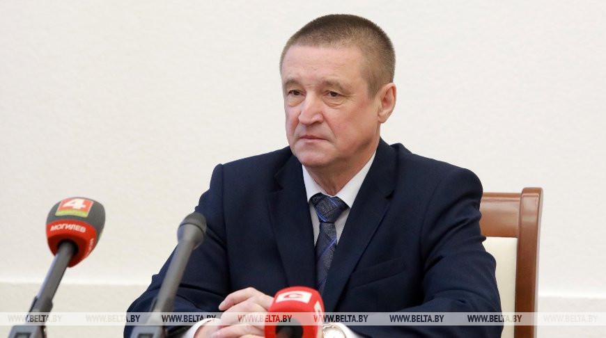 Леонид Заяц провел пресс-конференцию