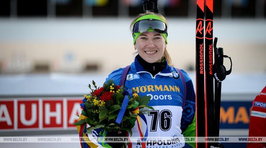 Белорусская биатлонистка Анна Сола стала четвертой в спринте на этапе КМ в Рупольдинге