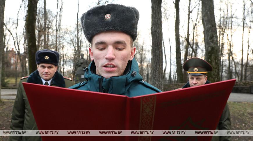 Сотрудники МЧС принесли присягу в Витебске