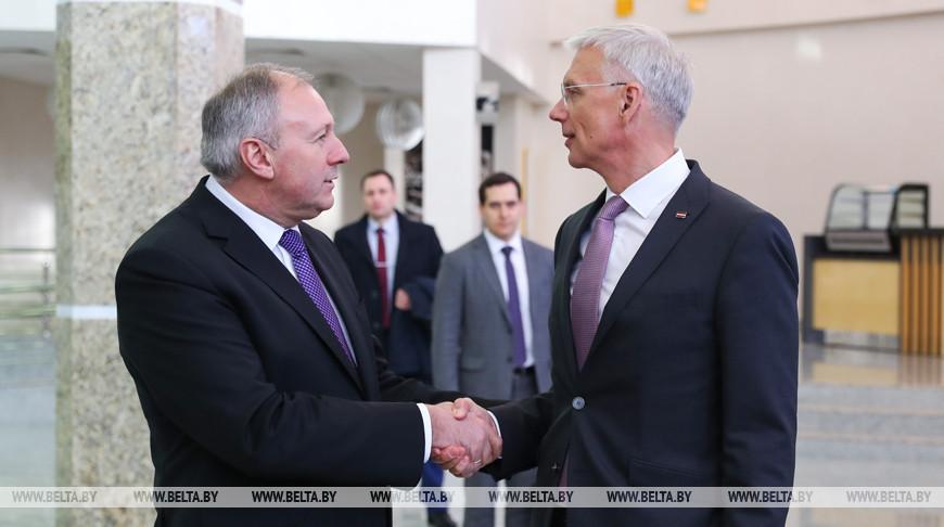 Румас провел совместное заседание белорусского и латвийского оргкомитетов по подготовке к ЧМ 2021 года
