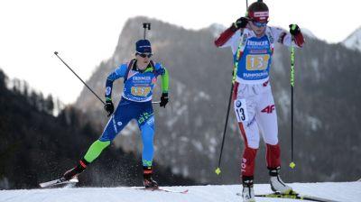 Белорусские биатлонистки заняли 12-е место в эстафете на этапе КМ в Рупольдинге