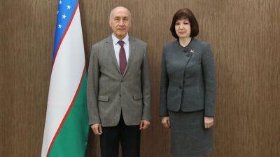 Кочанова встретилась с послом Узбекистана