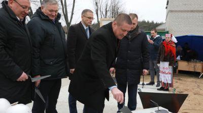 В Могилеве началось строительство кардиохирургического корпуса областной больницы