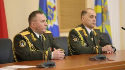 Коллективу Минобороны представлены новый руководитель и начальник Генштаба ВС