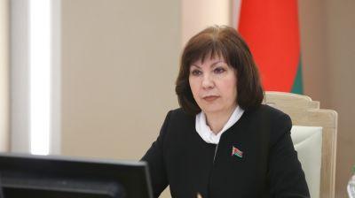 Кочанова провела заседание Совета по взаимодействию органов местного самоуправления при Совете Республики