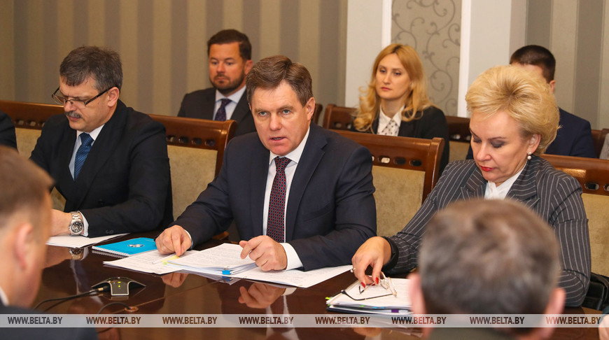 Заседание Национального комитета по народонаселению прошло в Минске