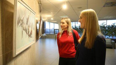 """Культурный проект """"Вяртанне"""" открылся в Национальной библиотеке"""