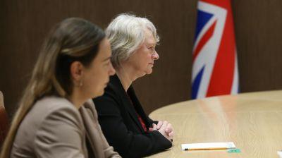 Кочанова встретилась с послом Великобритании