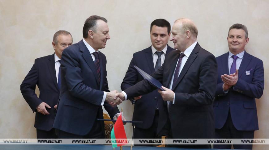 НАН Беларуси и БелТПП подписали план совместных мероприятий на 2020 год