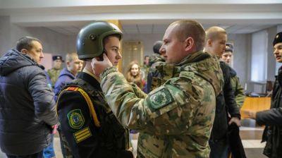 День открытых дверей прошел на факультете внутренних войск Военной академии