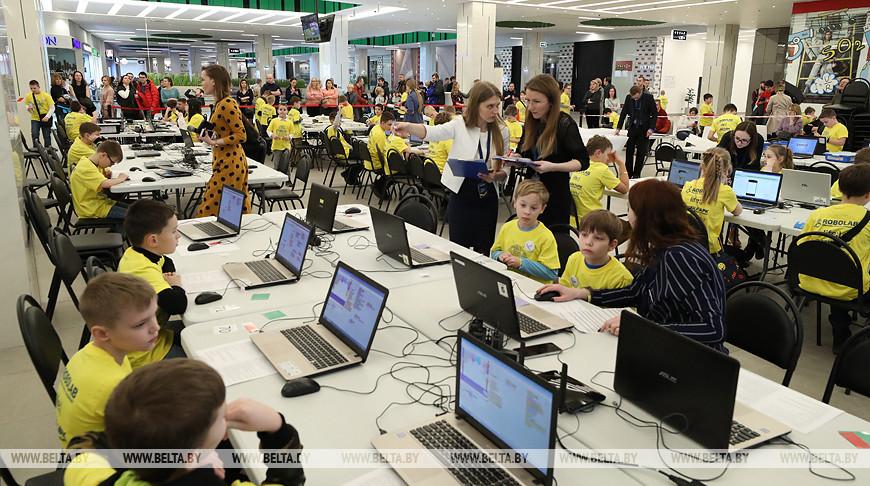 Детский турнир по робототехнике состоялся в Минске