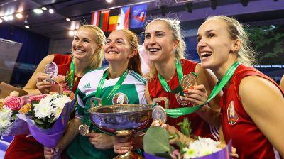 Женская сборная Беларуси выиграла чемпионат Европы по индор-хоккею в Минске