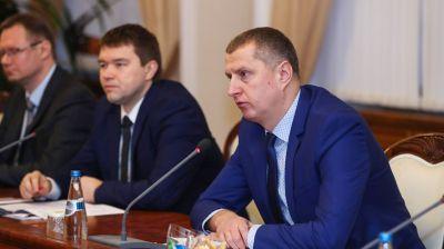 Дмитрий Крутой встретился с региональным директором Всемирного банка по Беларуси, Молдове и Украине