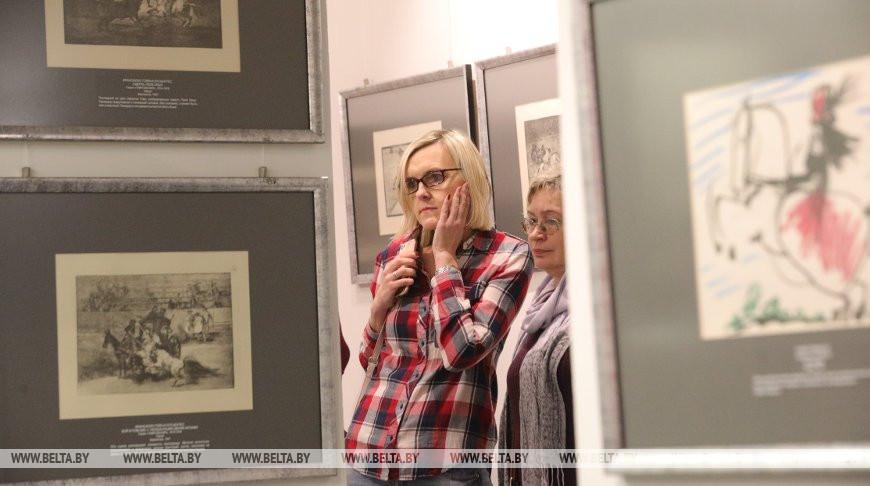 Офорты и литографии Гойи и Пикассо представили в Минске