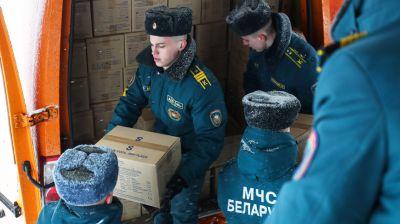 Беларусь отправляет гуманитарную помощь в КНР