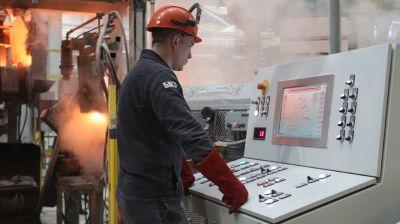 ММЗ провел пробный пуск нового участка литья в Столбцах