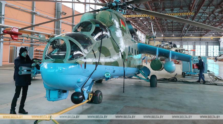 Новый цех появится на Оршанском авиаремонтном заводе