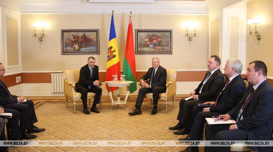 Румас провел встречу с премьер-министром Молдовы Ионом Кику