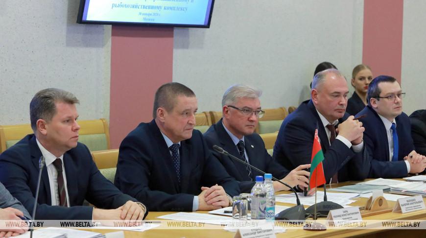 Заседании восьмой совместной комиссии по развитию сотрудничества Беларуси с Ленинградской областью РФ прошло в Могилеве