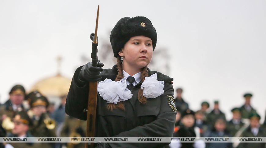 """Фестиваль """"Марш мужества Валерия Халилова"""" прошел в Брестской крепости"""