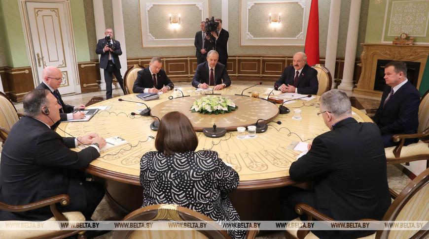 Лукашенко встретился с госсекретарем США
