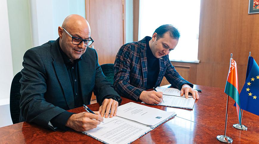 БРСМ и Европейская ассоциация молодежных карт подписали договор о сотрудничестве